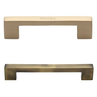 Brass Cabinet D-Bar Pulls