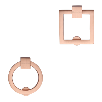 Copper Cabinet Ring Pulls