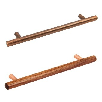 Copper Cabinet T-Bar Pulls