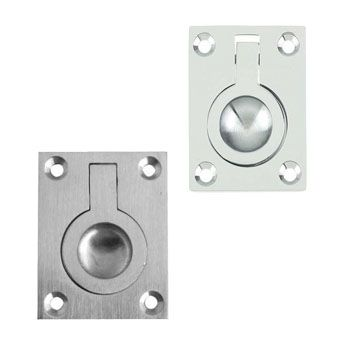 Silver Cabinet Ring Pulls