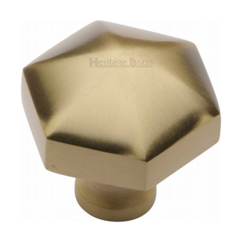 Hexagonal Cabinet Knobs