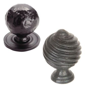 Black Ball Cabinet Knobs