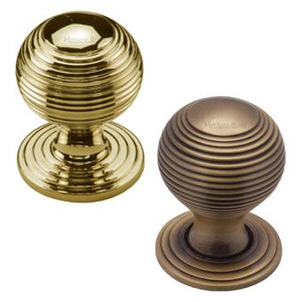 From the Anvil Brass Ball Cabinet Knobs