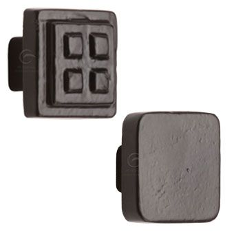 Black Square Cabinet Knobs