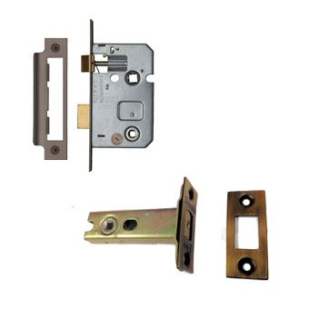 Bronze Bathroom Locks