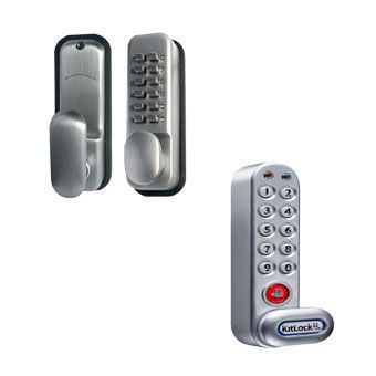 Silver Combination Locks