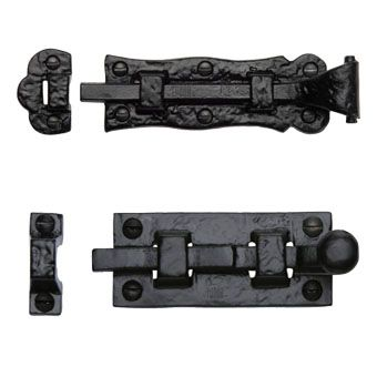 Black Door Bolts