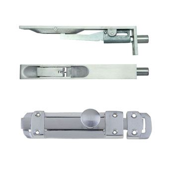 Silver Door Bolts