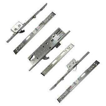 Silver Euro Multipoint Door Locks