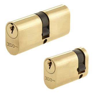 Brass Oval Lock Cylinders