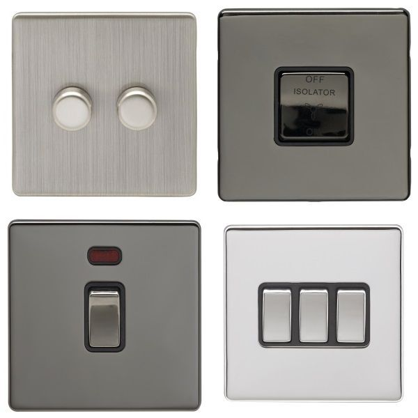 Eurolite Concealed Fix Switches