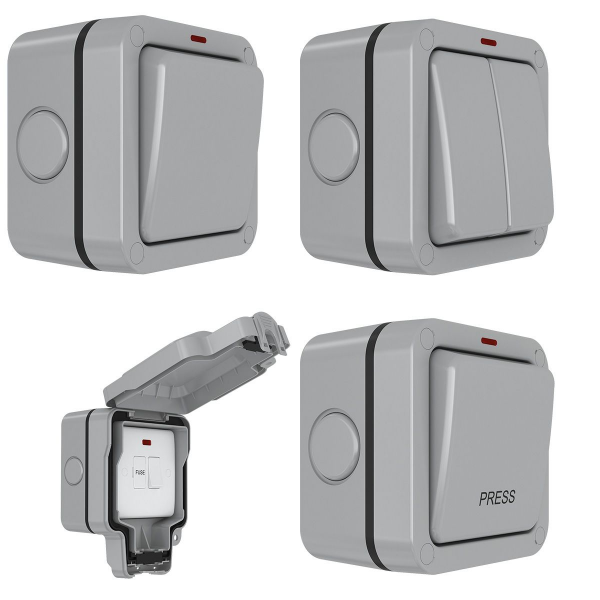 Euroseal Weatherproof Switches