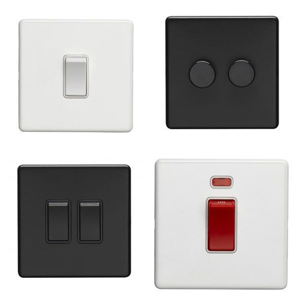 Flat Concealed Switches
