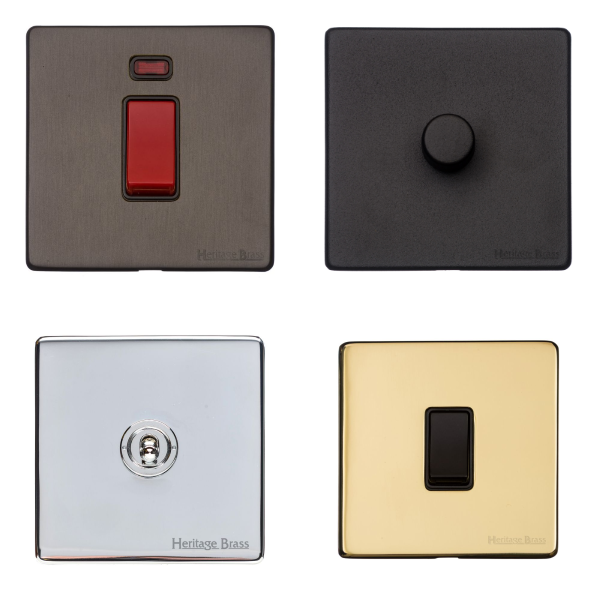 Heritage Concealed Fix Switches