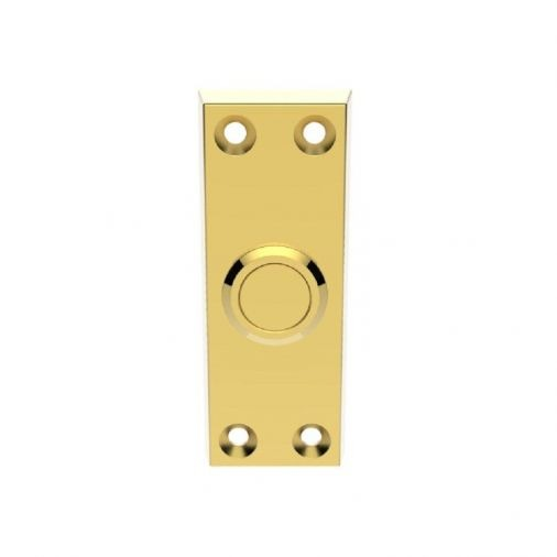 Brass Front Door Bell Pushes