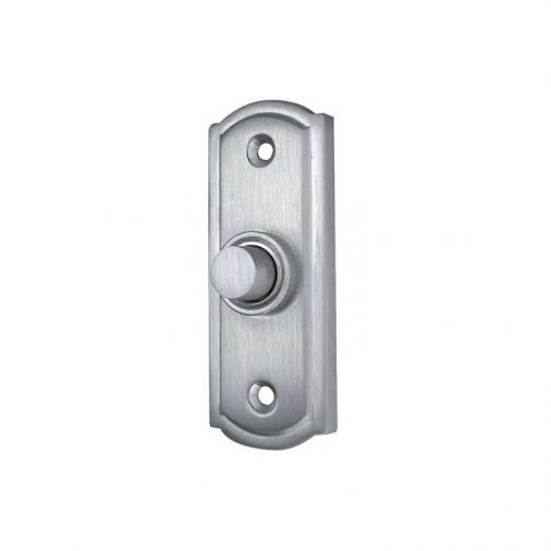 Brushed Metal Front Door Bell Pushes