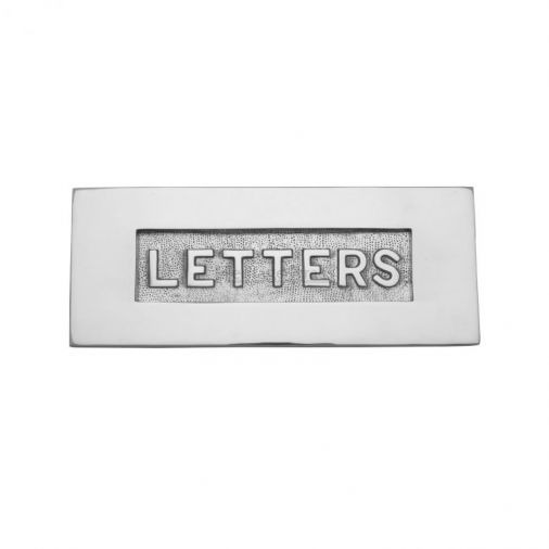 From the Anvil Polished Metal Front Door Letterplates
