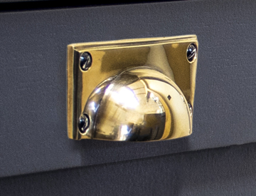 Brass Cabinet Cup Pulls