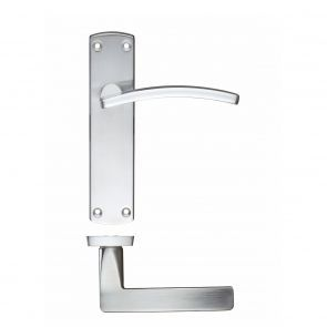 Toledo Zcz032sc Satin Chrome Lever Door Handles