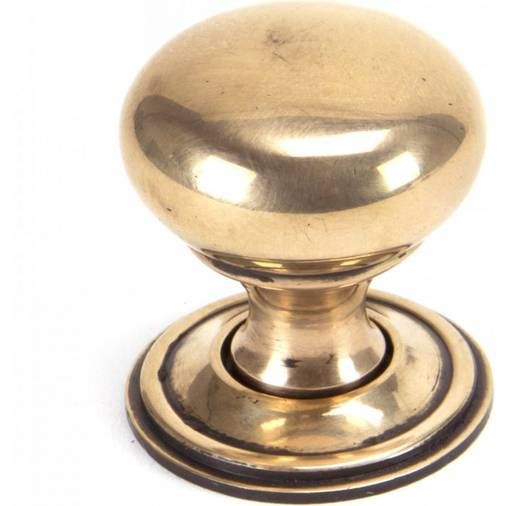 Anvil 91950 Polished Bronze 32mm Mushroom Cabinet Knob
