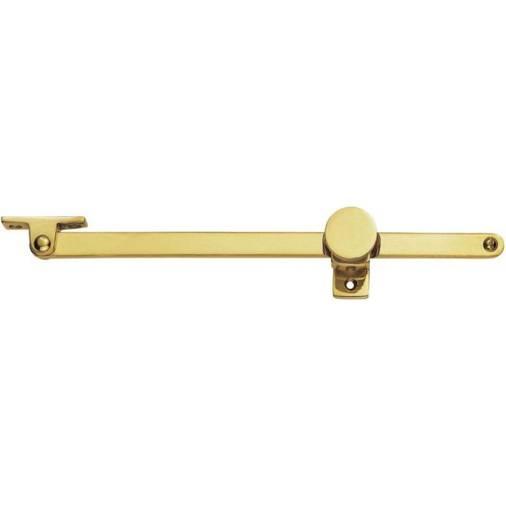 Polished Brass by Carlisle Brass LOCKING CASEMENT STAY PIN Finish PB Carlisle Brass WF17