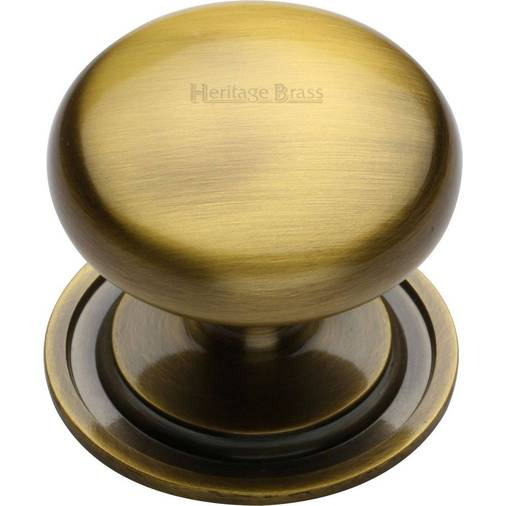 Heritage Brass C2240 48-AT Cabinet Knob Round Design 48mm Antique Brass