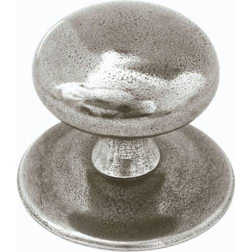 FDENTRY Solid Pewter Large Centre Door Knob