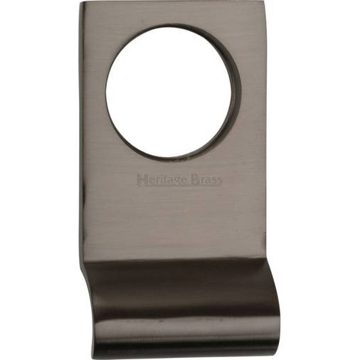 PolishedChrome//Satin Chrome or Brass 60mm x 45mm Front Door Cylinder Pull