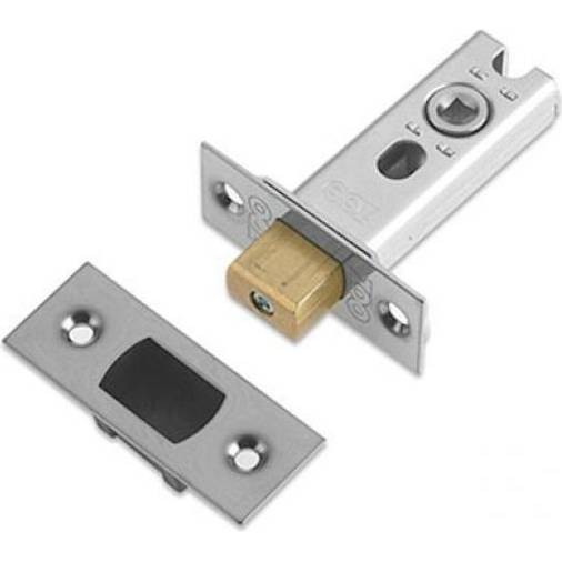 Zoo ZTDA64B tubular deadbolt 64mm long satin