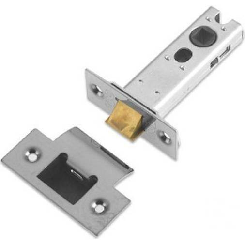 Zoo ZTLKA64B tubular latch 64mm long satin