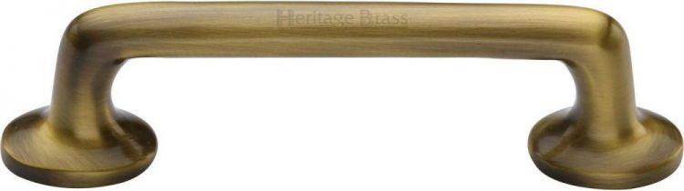 Heritage Brass Cabinet Pull Traditional, Antique Bronze Kitchen Cabinet Hardware