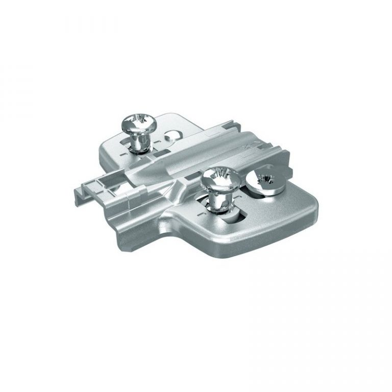 Hettich hinge mounting plate adjustable 0mm for Cabinet mounting plate