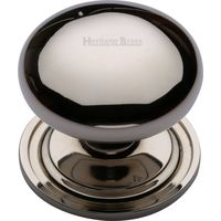 Heritage Brass C2240 48-PNF Cabinet Knob Round Design 48mm Polished Nickel
