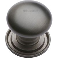 Heritage Brass Cabinet Knob Round Design 48mm Matt Bronze finish