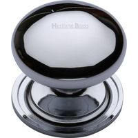 Heritage Brass C2240 48-PC Cabinet Knob Round Design 48mm Polished Chrome