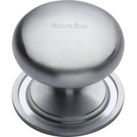 Heritage Brass C2240 48-SC Cabinet Knob Round Design 48mm Satin Chrome