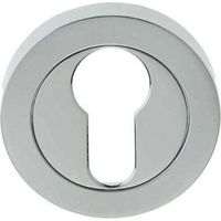 Frelan JV503EPC/SC - polished/satin chrome euro escutcheon