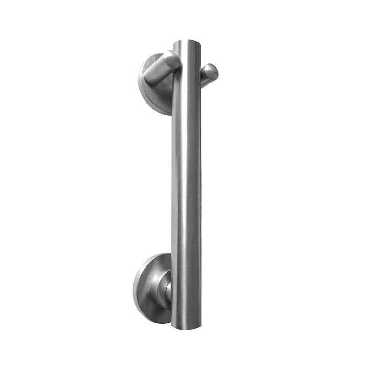 Frelan jss3003 satin stainless steel door knocker door for Door knockers uk