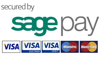 Any payments made on the website are processed safely and securely by Sagepay